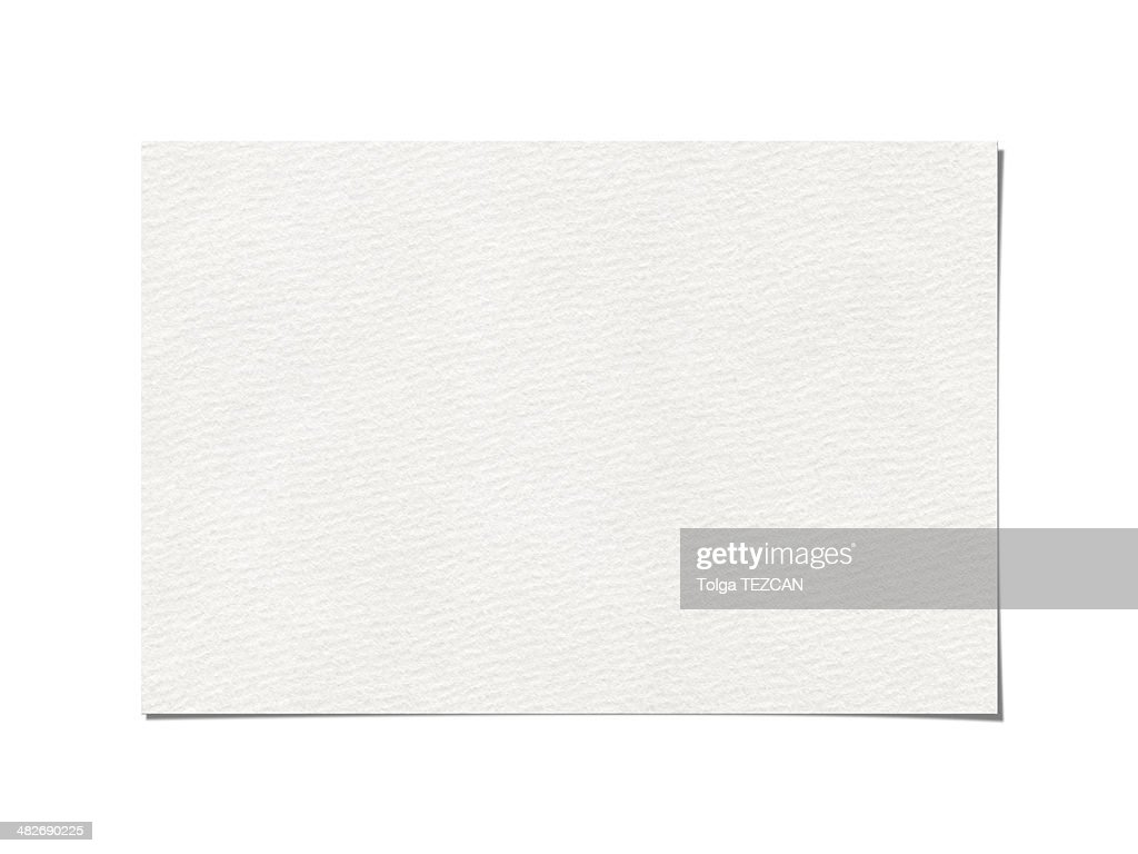 Blank paper : Stock Photo