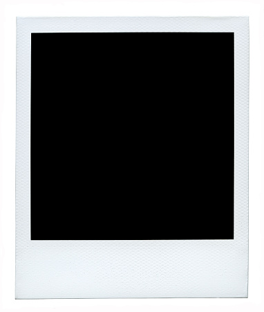 Blank photo (Authentic polaroid with lots of details) +54 Megapixels. 184886377
