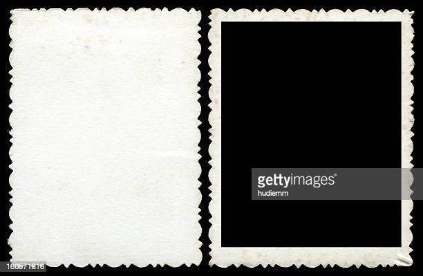 Blank photo frame & background textured