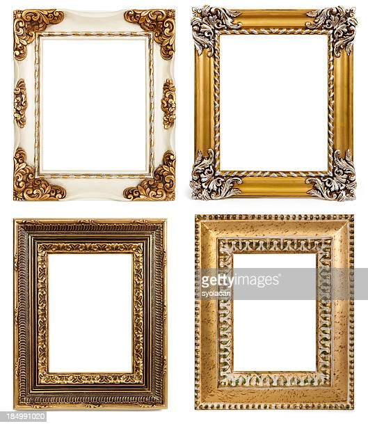 blank photo frames - syolacan stock pictures, royalty-free photos & images