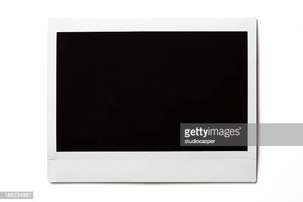 blank  photo on white - frame stock pictures, royalty-free photos & images