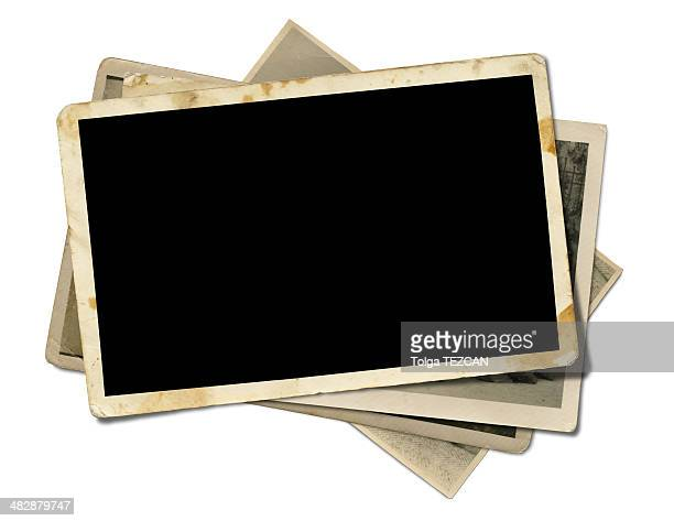 blank photo - foto stockfoto's en -beelden