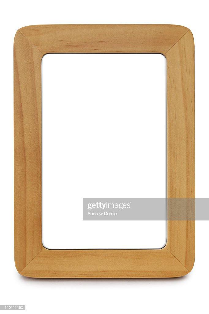 Blank Picture Frame : Foto de stock