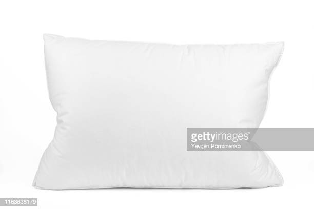 blank pillow isolated on white background. empty cushion for your design. - 枕 ストックフォトと画像