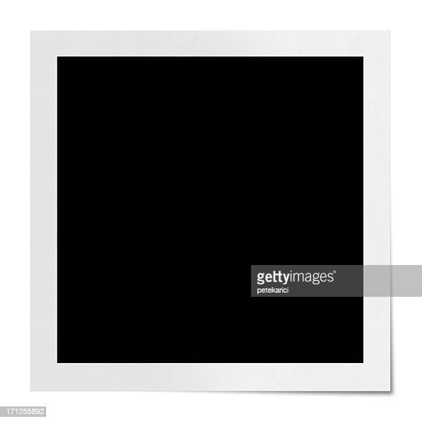 Blank Polaroid (Clipping Path)