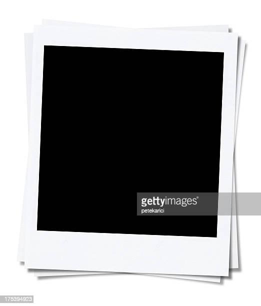 Polaroid blanc (Tracé de détourage