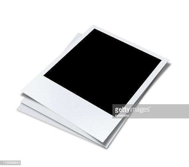 Blank Polaroid (Clipping Path)
