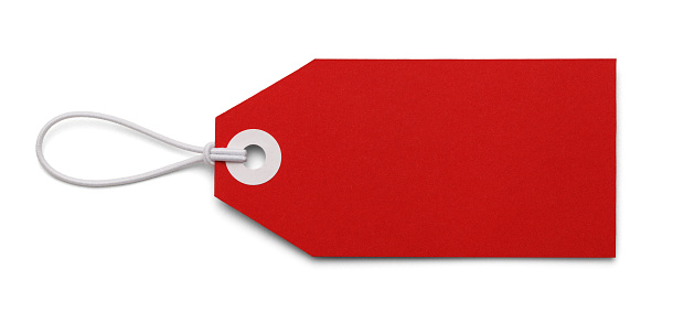 Blank Red Tag 866706756
