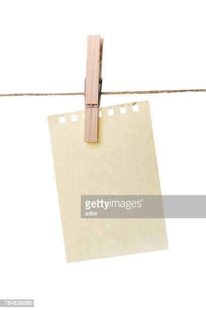 blank reminder - clothespin stock pictures, royalty-free photos & images