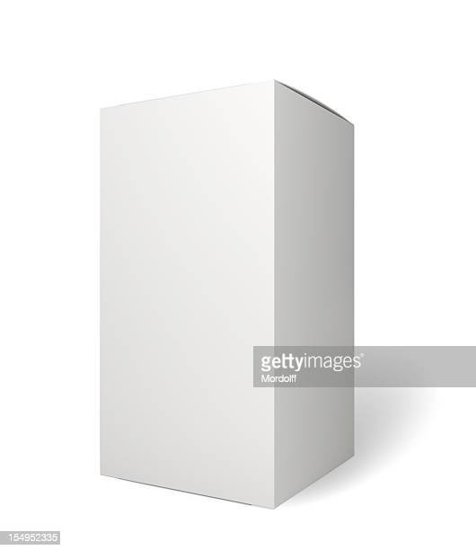 blank retail product package on white - vertical stock pictures, royalty-free photos & images