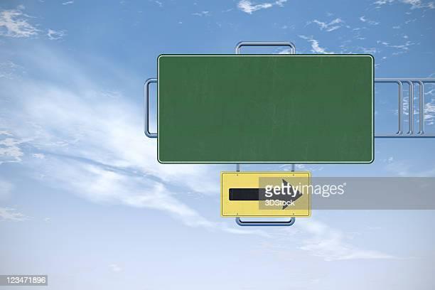 sinal de estrada em branco - placa de estrada - fotografias e filmes do acervo