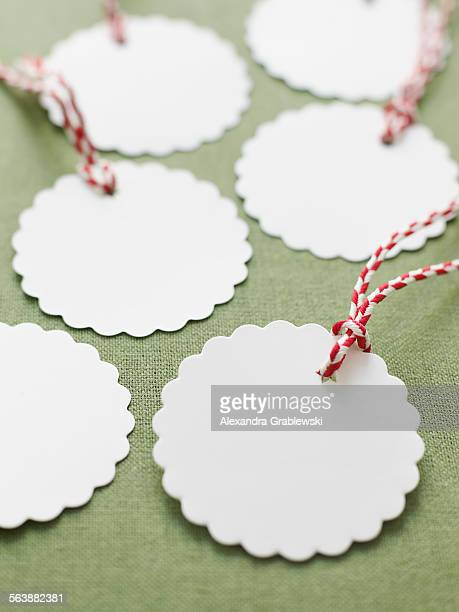 Blank Scalloped Gift Tags