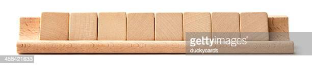 Blank Scrabble Tiles