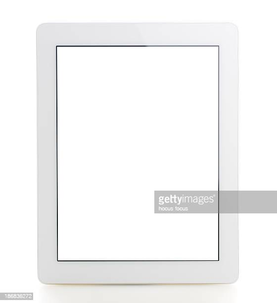 Blank screen white tablet pc