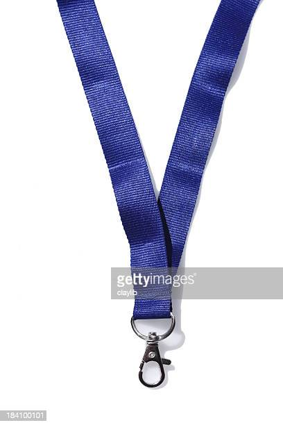 blank security pass lanyard - strap stock pictures, royalty-free photos & images
