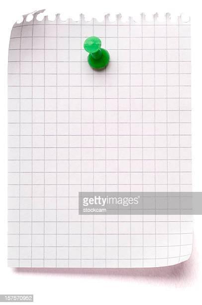 Blank sheet of maths paper