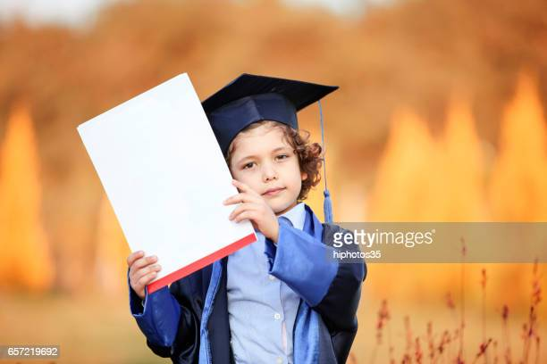 Blank sign - graduation (on white)