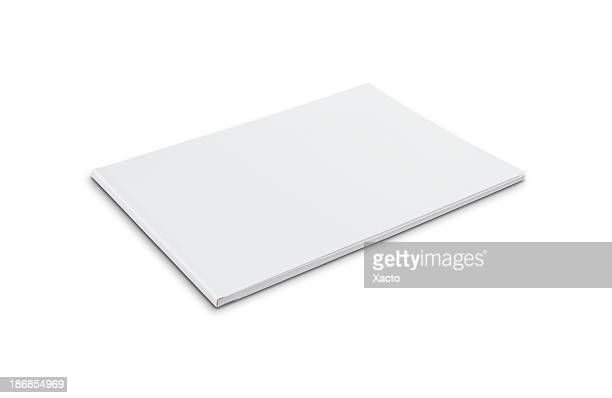 Blank softcover book (landscape)