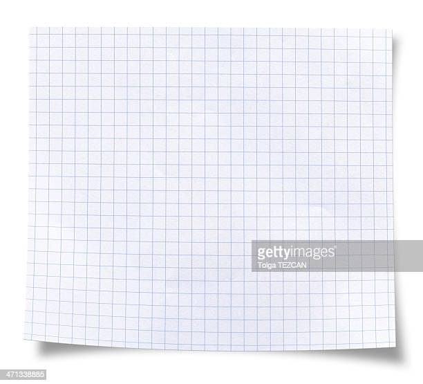 blank square rules lined paper - grid pattern stock pictures, royalty-free photos & images