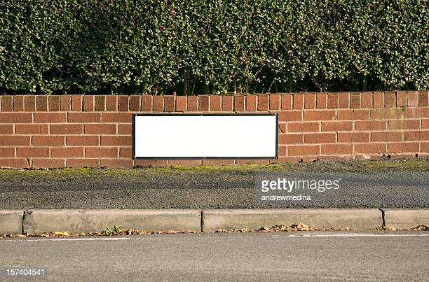 blank street sign-click for related images - curb stock pictures, royalty-free photos & images