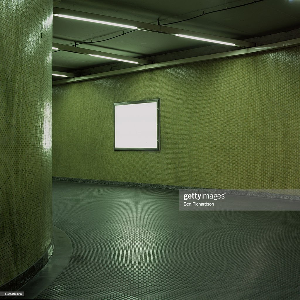 Blank subway 3 : Stock Photo