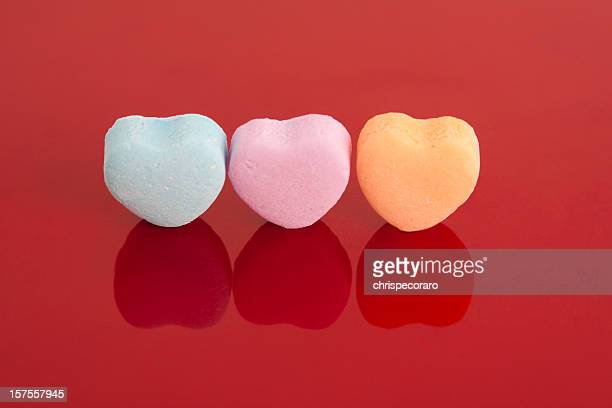 blank valentine's candy - candy heart stock pictures, royalty-free photos & images