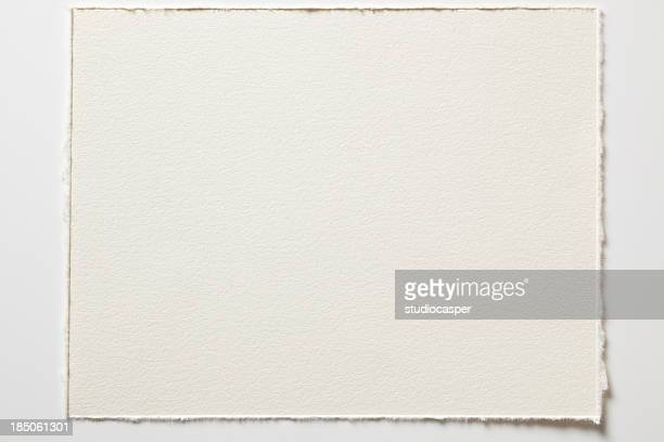 Blank watercolor paper in high resolution