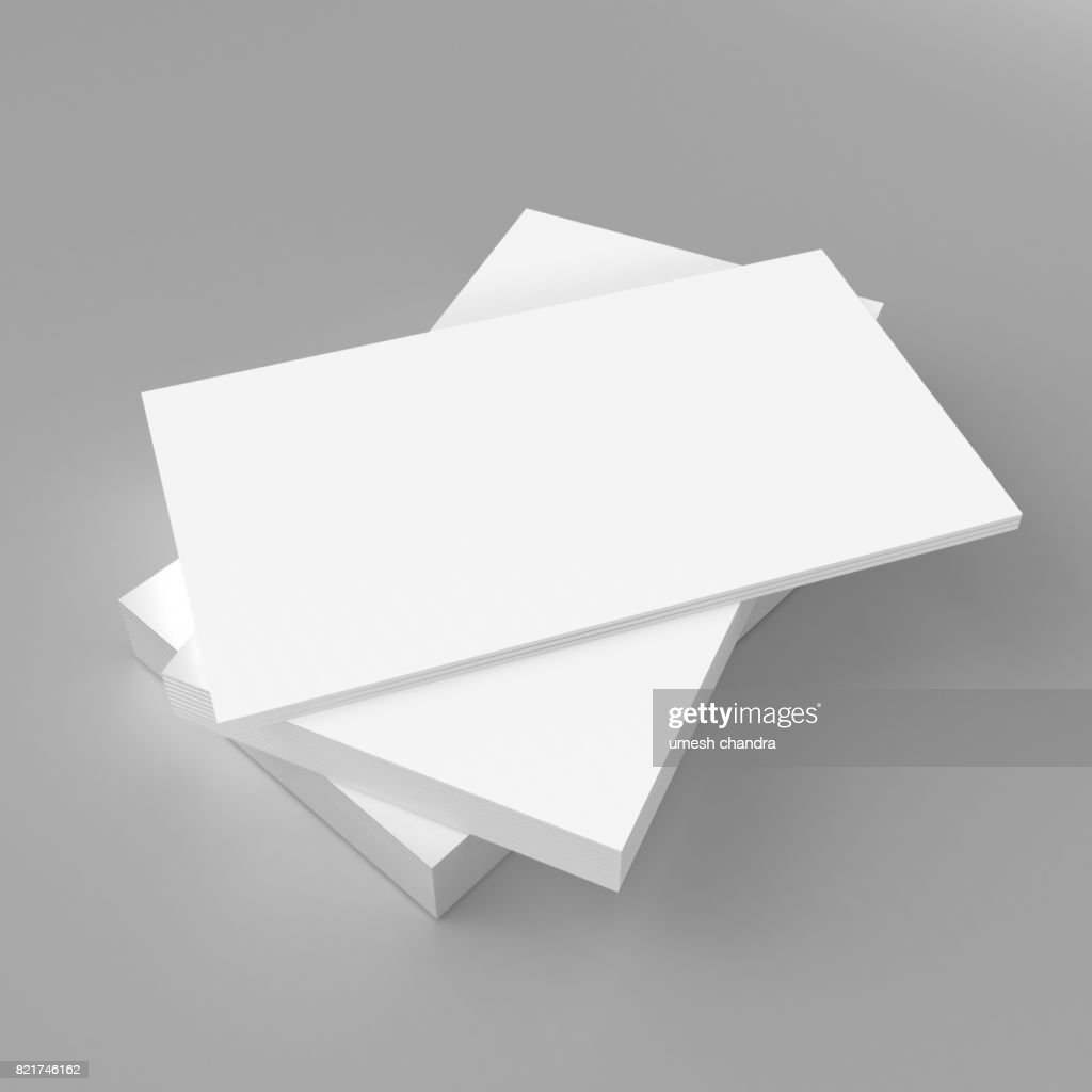 Blank white 3d visiting card and business card template 3d render blank white 3d visiting card and business card template 3d render illustration for mock up and flashek Choice Image