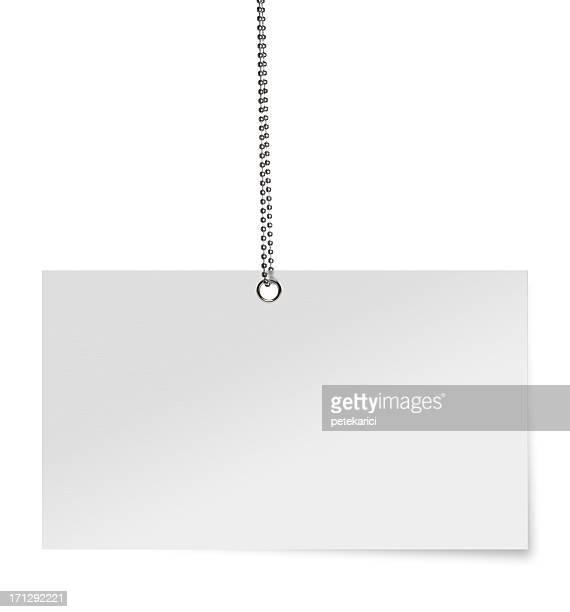 Carte vide blanc (Tracé de détourage