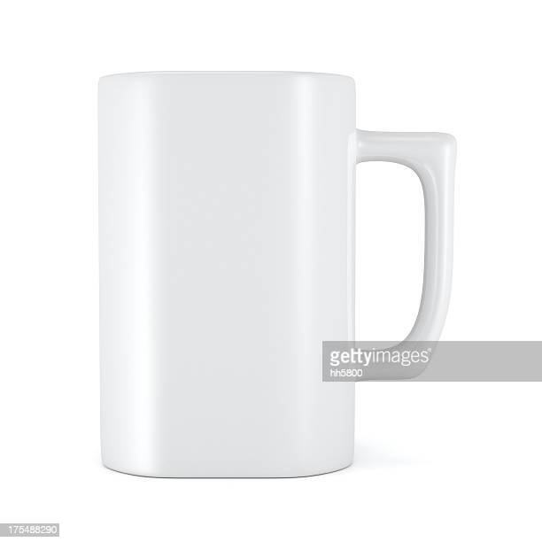 blank white cup - mug stock pictures, royalty-free photos & images