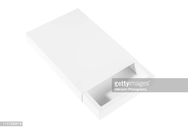 blank white empty box template isolated over white background - template stock pictures, royalty-free photos & images