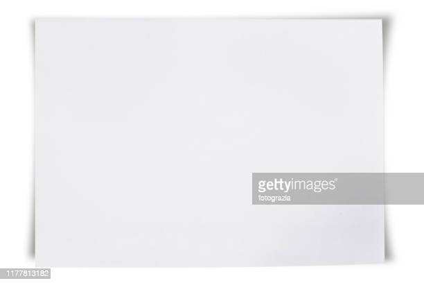 blank white paper - magazine stock pictures, royalty-free photos & images
