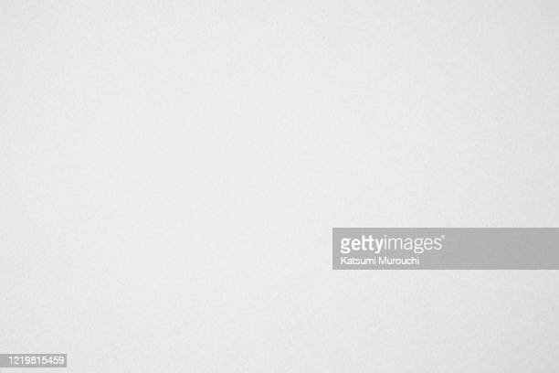 blank white paper texture background - bianco foto e immagini stock