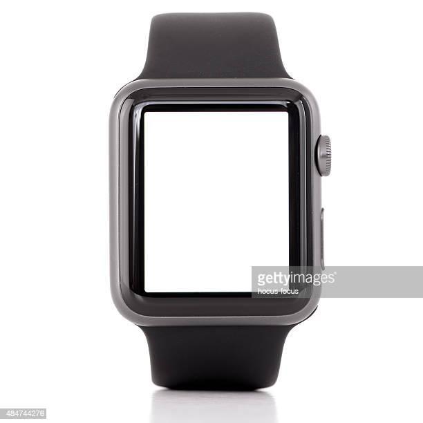 Blank white screen Apple Watch