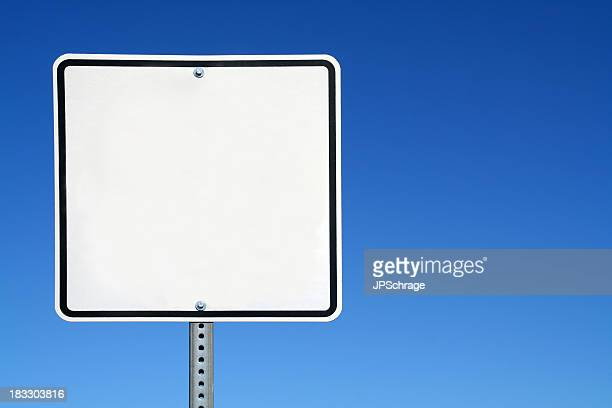 blank white sign - road sign stock pictures, royalty-free photos & images