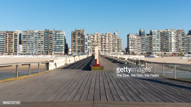 blankenberge pier - coastline stock pictures, royalty-free photos & images