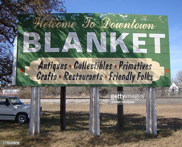 Blanket is a small community located in eastern Brown County between Brownwood and Comanche.