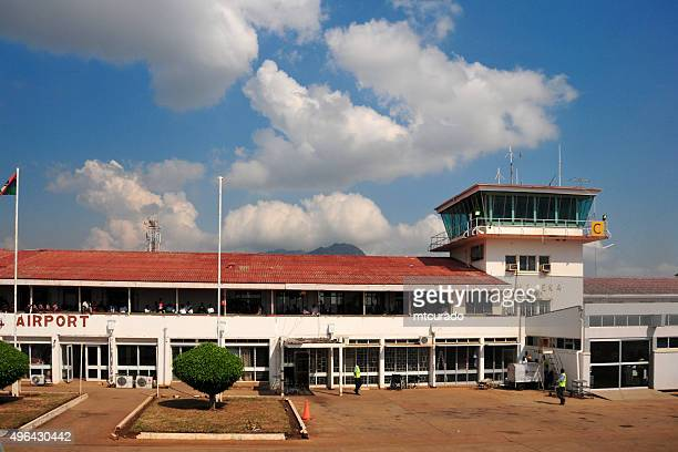 blantyre, malawi: chileka international airport - malawi stock pictures, royalty-free photos & images