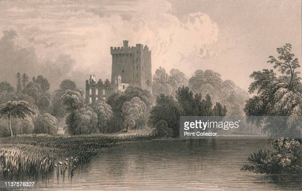 Blarney Castle Co Cork' 1831 View of Blarney Castle in County Cork Ireland The castle is the home of the 'Blarney Stone' believed to bestow the gift...