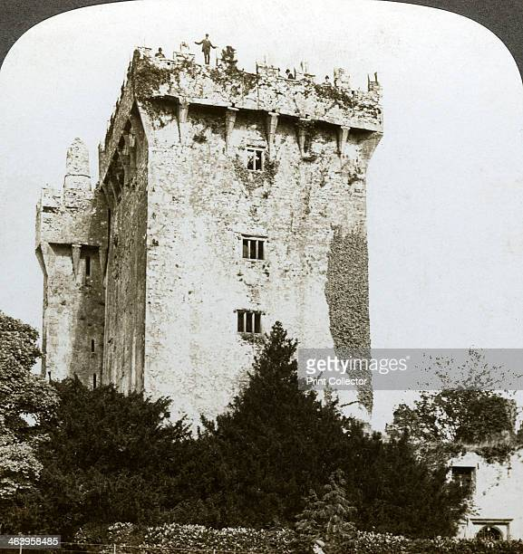 Blarney Castle Cork Ireland The castle near Cork is the home of the 'Blarney Stone' believed to bestow the gift of eloquence when kissed The original...