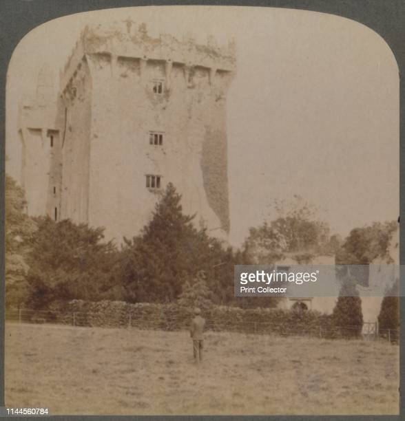 Blarney Castle the shrine of Irish wit near Cork Ireland' 1901 The castle near Cork is the home of the 'Blarney Stone' believed to bestow the gift of...