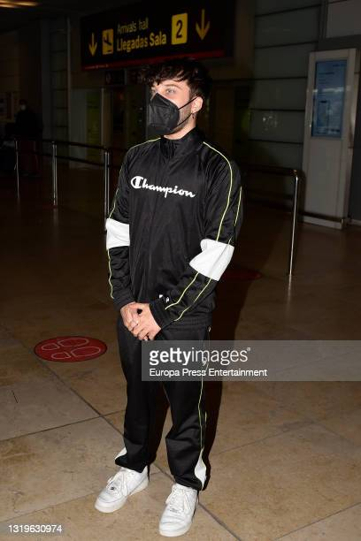 Blas Canto at the Adolfo Suarez Madrid Barajas Airport, on 23 May 2021, in Madrid, Spain.