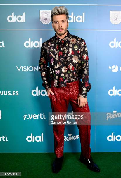 Blas Canto attends during 'Vive Dial' Madrid photocall 2019 on September 06 2019 in Madrid Spain