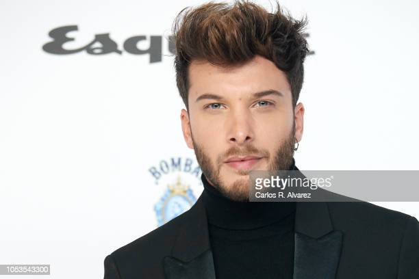 Blas Canto attends Esquire 'Men of the Year' awards 2018 at the Instante Foundation on October 25 2018 in Madrid Spain