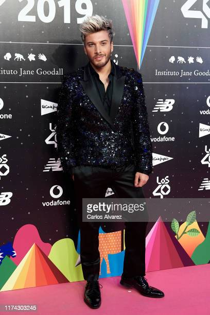 Blas Canto attends the 40 Principales Awards nominated dinner at Florida Retiro on September 12 2019 in Madrid Spain