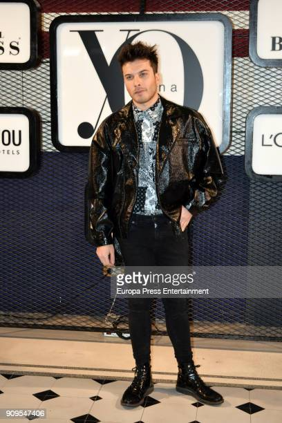 Blas Canto attends the 'Yo Dona' party at Only You Hotel Atocha on January 23 2018 in Madrid Spain