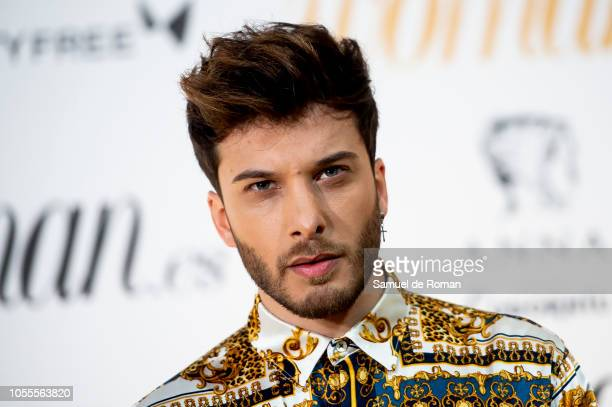 Blas Canto attends Woman awards 2018 at the Casino de Madrid on October 30 2018 in Madrid Spain