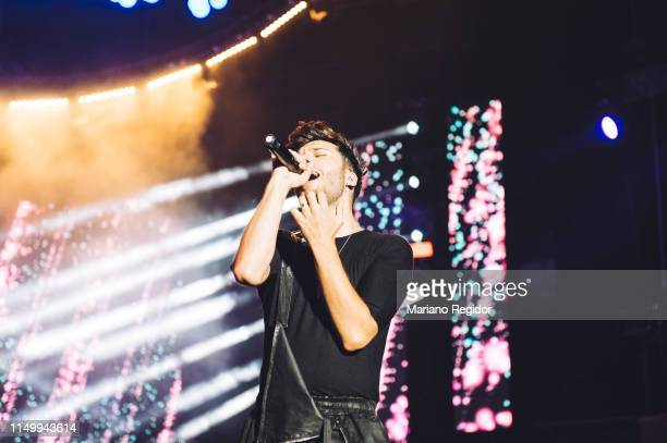Blas Canto performs on stage during LOS40 Primavera Pop festival at Madrid WiZink Center on May 17 2019 in Madrid Spain