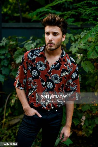 Blas Canto poses during a portrait session on August 29 2018 in Madrid Spain