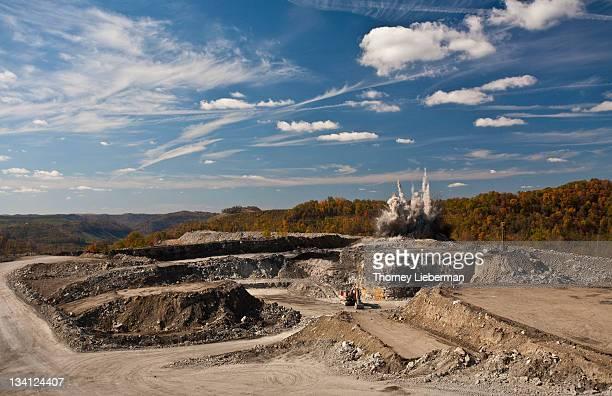 Blast at Coal Mine